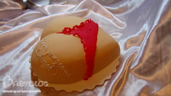 торт фото виде женской груди и писки