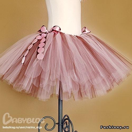 Как сшить юбку из лент фатина фото 511
