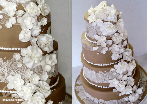 Фотографии тортов с марцепана