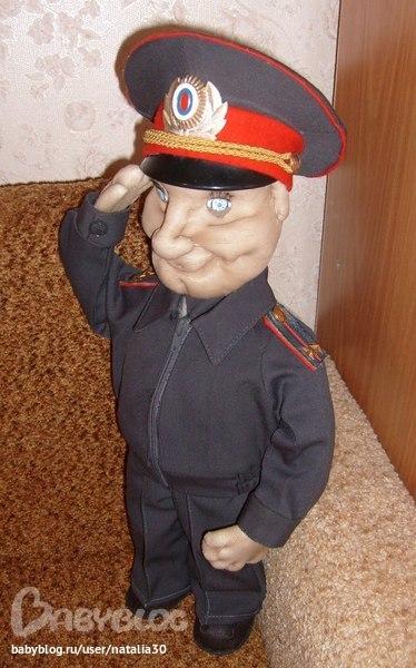 Кукла полицейский своими руками мастер класс 239