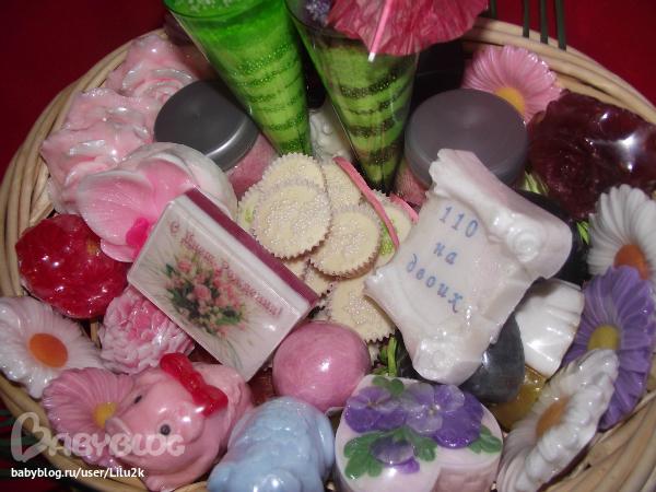 Набор мыла ручной работы в подарок