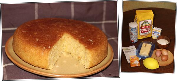 простой пирог в мультиварке