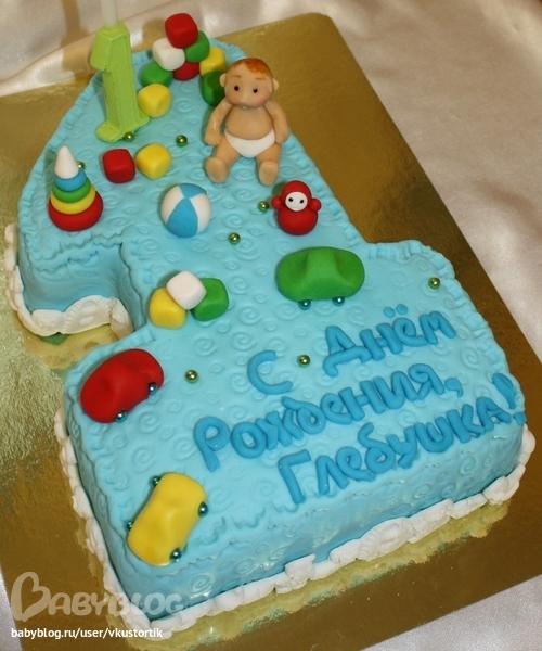 Идея торта на годик мальчику фото