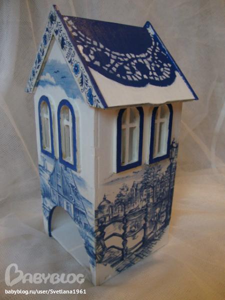 Чайный домик декор своими руками 488