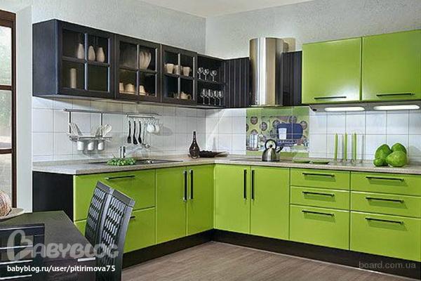 дизайн кухни фото 9 кв