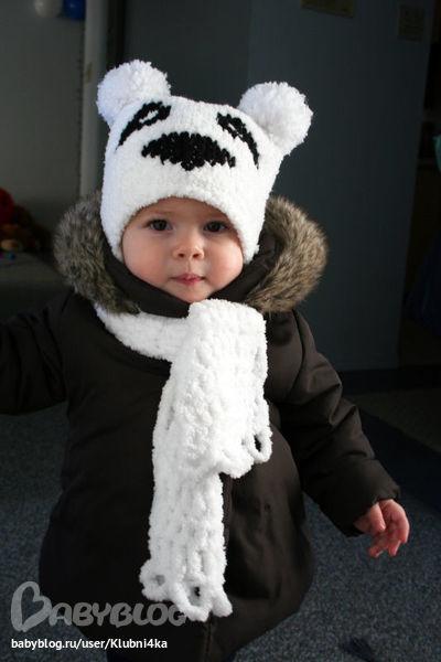 Панда вязание для детей 57
