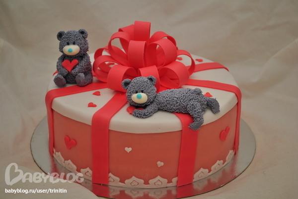 Торты из мастики для девушек на день рождения фото