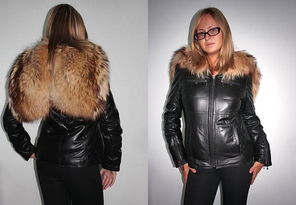 Зимние Куртки Кожаные Женские