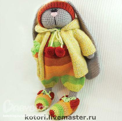 Схемы вязания зайцев.