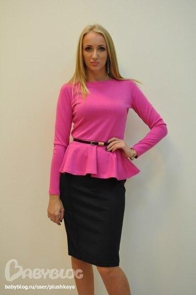 Блузка Баска Фото