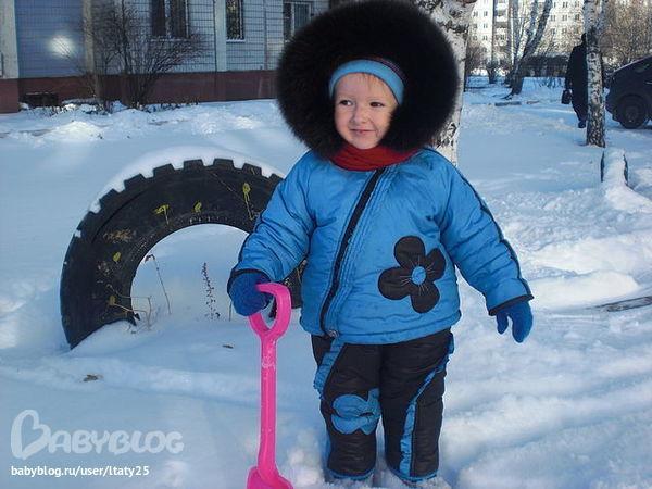 Зимний комбинезон для девочки как сшить