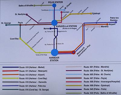 Схема аэропорта ларнака