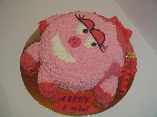 Фото торт с нюшей