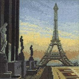 """Предпросмотр - Схема вышивки  """"Это Париж """" - Схемы автора  """"natalia-iva09 """" - Вышивка крестом."""