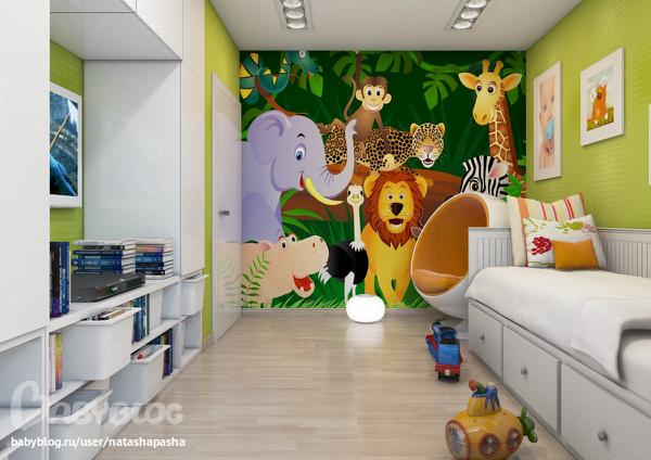 фотообои на стену для детей: