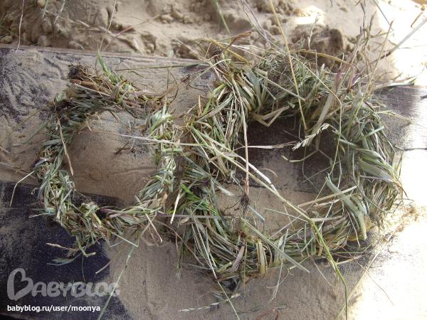 Поделки из соломы, сухой травы: https://www.babyblog.ru/community/post/igraem/1699481