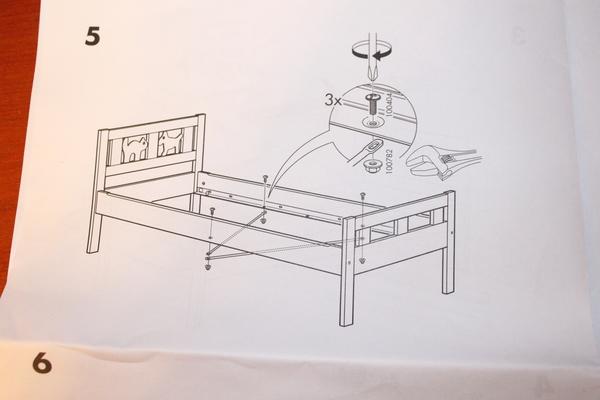 Кровать Лексвик Икеа Инструкция По Сборке - фото 11