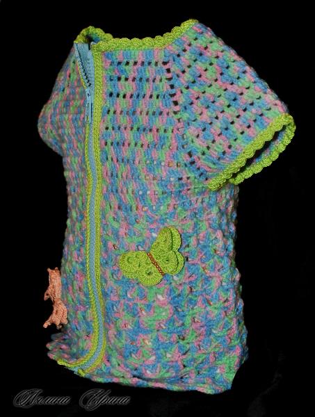 Вязание из пряжи беби принт 38