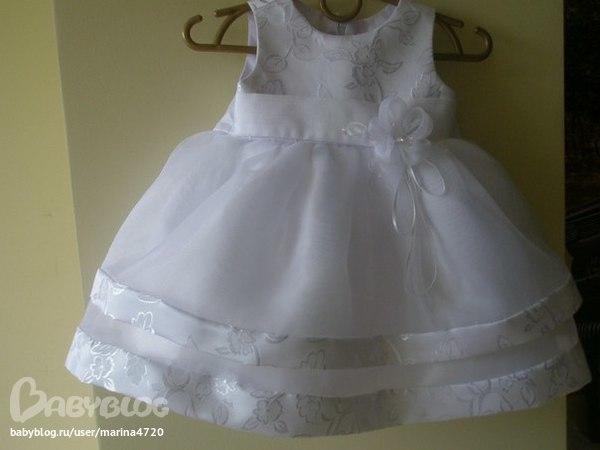 шьем платье на годик своими руками