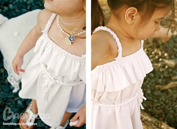 Детский сарафан из футболки своими руками