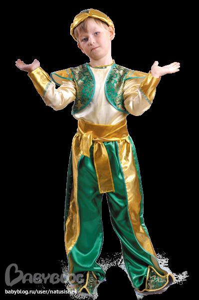 Новогодний костюм джина для мальчиков своими руками фото