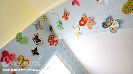 Бабочки на день рождения своими руками из бумаги