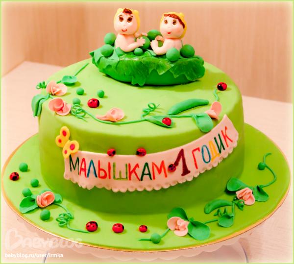 Поздравление с днем рождения 1 годик двойняшкам девочкам