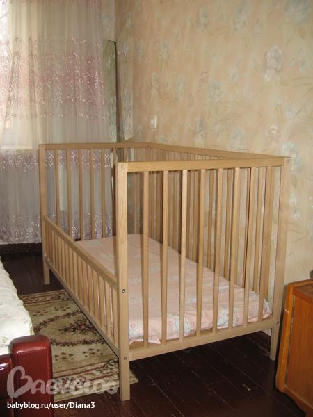 Модернизация детской кроватки своими руками 82