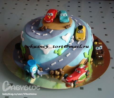 Торт тачки мастер класс фото