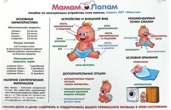 инструкция по эксплуатации ребенка - фото 6