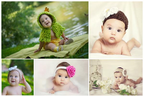 Аксессуары для фотосессии для детей своими руками