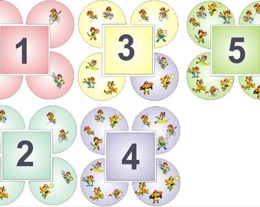 Карточки для детей с цифрами своими руками 6