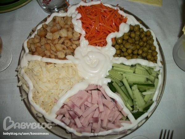 Рецепты салаты быстрого приготовления