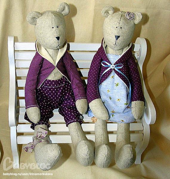 Куклы тильды медведи