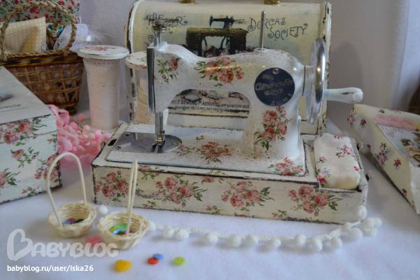 Реставрация швейной машинки своими руками