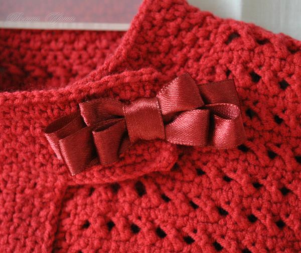 Кофта вязание крючком осень 31