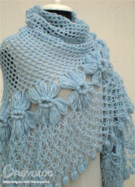 Шишечки-кисточки на шаль