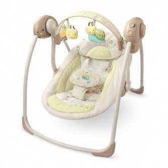 качели шезлонги для новорожденных