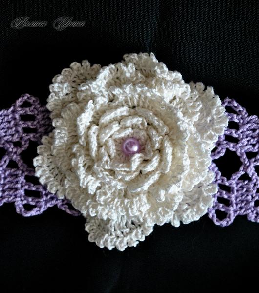 Цветок бисер вышивка бисером 286