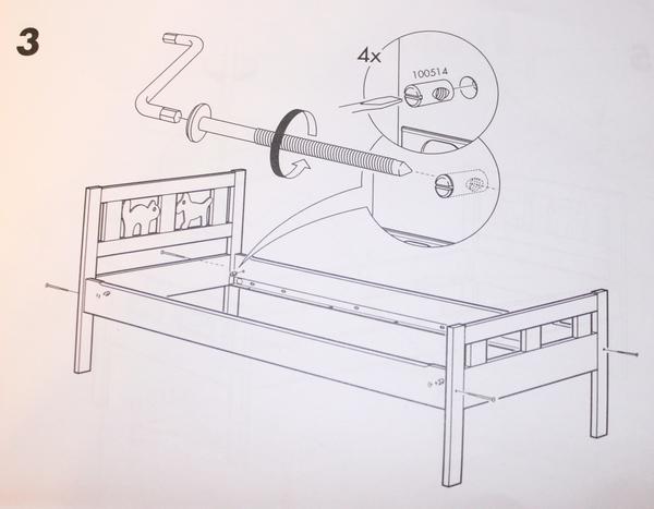 Кровать Лексвик Икеа Инструкция По Сборке - фото 6