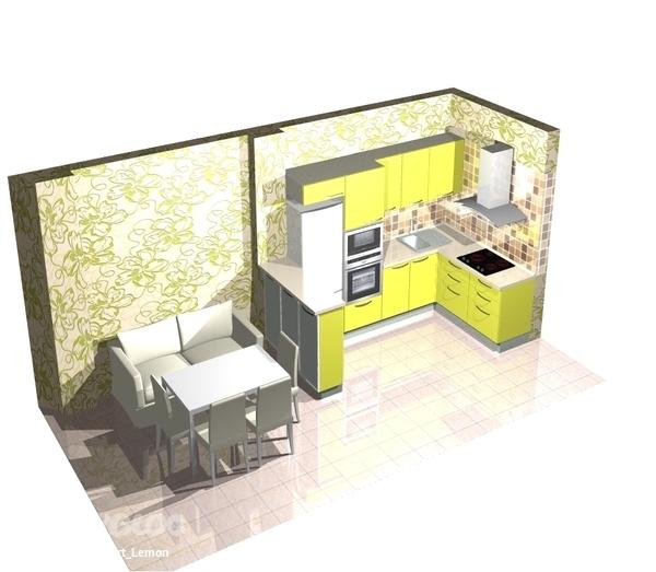 Дизайн кухни 4 3