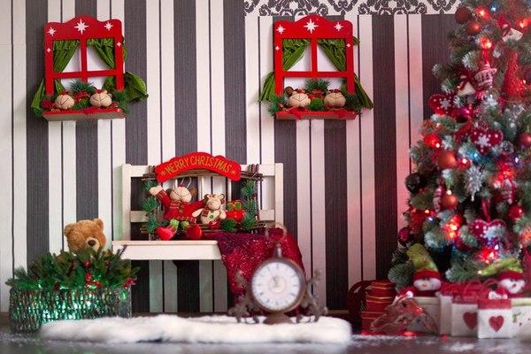 Новогодние декорации своими руками для фотосессии