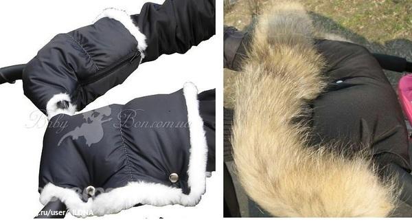 Муфты для рук на коляску из овчины своими руками 100
