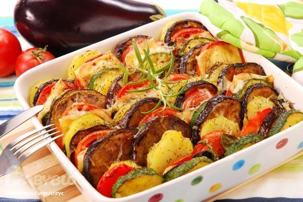 Баклажаны с мясом в духовке рецепт с пошаговый