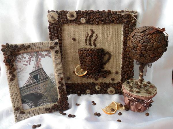 Рамка  из кофе