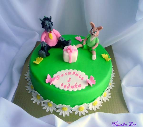 ну погоди торт из мастики фото
