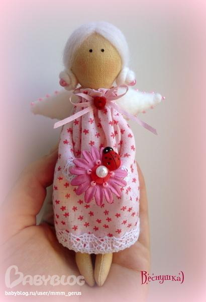 Кукла тильда ангел своими руками из ткани