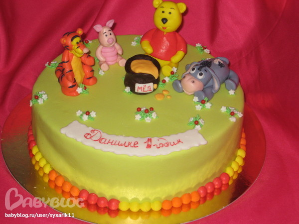 Торт для девочек на 1 год фото 6