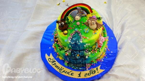 Торт ослик с фото