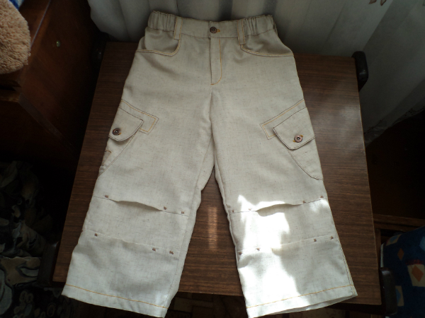 Мама сшила нам штаны 804